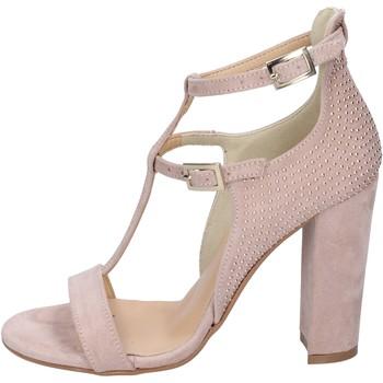 Buty Damskie Sandały Olga Rubini BP353 Różowy