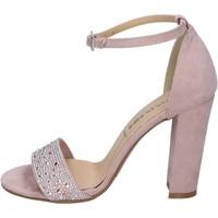 Buty Damskie Sandały Olga Rubini BP357 Różowy