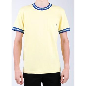 tekstylia Męskie T-shirty z krótkim rękawem DC Shoes T-shirt DC SEDYKT03372-YZL0 żółty