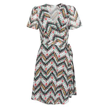 tekstylia Damskie Sukienki krótkie Les Petites Bombes V7205 Wielokolorowy