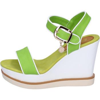 Buty Damskie Sandały Enrico Coveri sandali pelle sintetica Verde