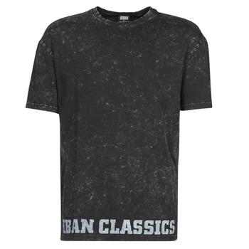 tekstylia Męskie T-shirty z krótkim rękawem Urban Classics TOBI Czarny