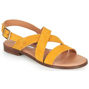 Buty Damskie Sandały Betty London MADISSON Żółty