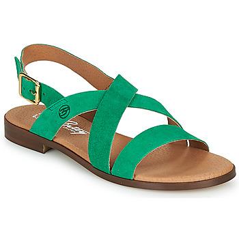 Buty Damskie Sandały Betty London MATOSSI Zielony