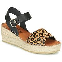 Buty Damskie Sandały Betty London MARILUS Leopard