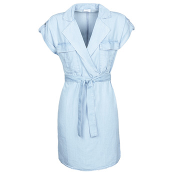tekstylia Damskie Sukienki krótkie Noisy May NMVERA Niebieski / Clair