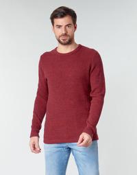 tekstylia Męskie Swetry Selected SLHVICTOR Czerwony
