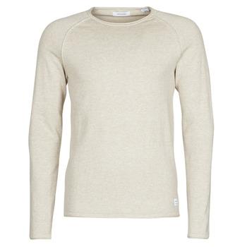 tekstylia Męskie Swetry Jack & Jones JJEUNION Beżowy