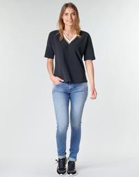 tekstylia Damskie Jeansy skinny Replay LUZ Niebieski / Medium