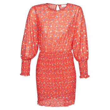 tekstylia Damskie Sukienki krótkie Moony Mood FANETTE Czerwony