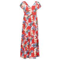 tekstylia Damskie Sukienki długie Betty London MALIN Czerwony / Biały / Niebieski