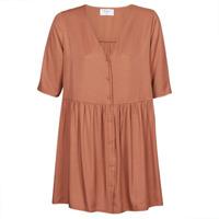 tekstylia Damskie Sukienki krótkie Betty London MOUDENE Brązowy