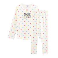 tekstylia Dziewczynka Piżama / koszula nocna Petit Bateau FIONA Wielokolorowy