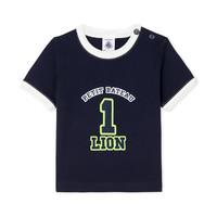 tekstylia Chłopiec T-shirty z krótkim rękawem Petit Bateau FUDGE Niebieski