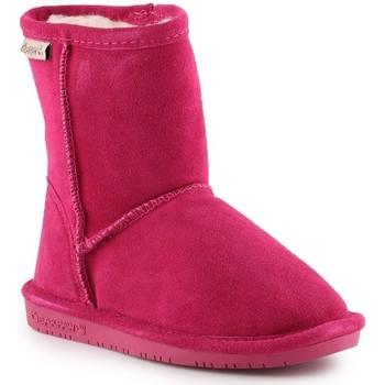Buty Dziewczynka Śniegowce Bearpaw Buty zimowe  Emma Toddler Zipper 608TZ-671 Pom Berry różowy