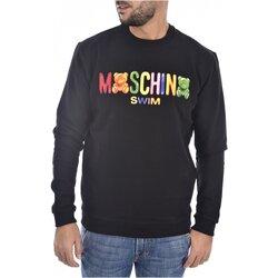 tekstylia Męskie Bluzy Moschino 3A1701 Czarny
