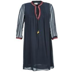 tekstylia Damskie Sukienki krótkie Stella Forest STALOU Niebieski