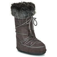 Buty Damskie Śniegowce Moon Boot MOON BOOT VELVET Antracyt