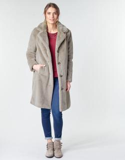 tekstylia Damskie Płaszcze Oakwood CYBER Taupe