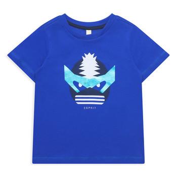 tekstylia Dziewczynka T-shirty z krótkim rękawem Esprit ENORA Niebieski