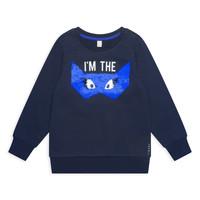 tekstylia Dziewczynka Bluzy Esprit ELONA Marine