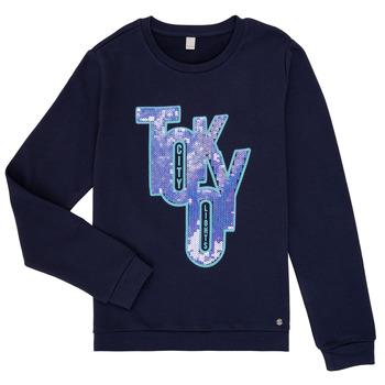 tekstylia Dziewczynka Bluzy Esprit ERIN Marine