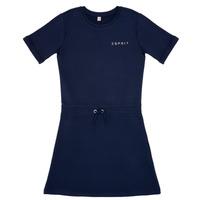 tekstylia Dziewczynka Sukienki krótkie Esprit EDEN Marine