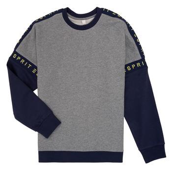 tekstylia Dziewczynka Bluzy Esprit ELISEE Szary