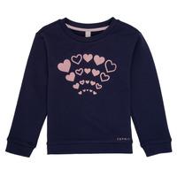 tekstylia Dziewczynka Bluzy Esprit ESTER Marine