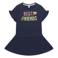 tekstylia Dziewczynka Sukienki krótkie Esprit EDINA Marine