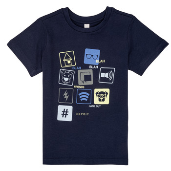 tekstylia Chłopiec T-shirty z krótkim rękawem Esprit ENZIEO Marine