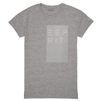 tekstylia Dziewczynka T-shirty z krótkim rękawem Esprit EVELYNE Szary