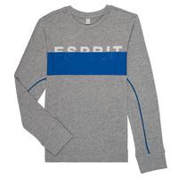 tekstylia Chłopiec T-shirty z długim rękawem Esprit FABIOLA Szary