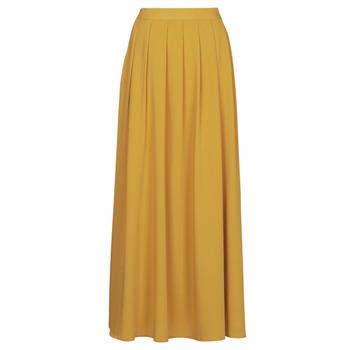 tekstylia Damskie Spódnice Betty London MERCI Żółty