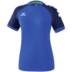 tekstylia Damskie T-shirty z krótkim rękawem Erima Maillot femme  Zenari 3.0 bleu/bleu/vert clair