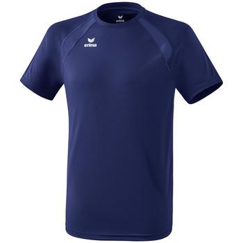 tekstylia Dziecko T-shirty z krótkim rękawem Erima T-shirt enfant  Performance bleu