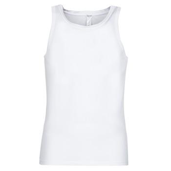 tekstylia Męskie Topy na ramiączkach / T-shirty bez rękawów Hom SUPREME COTTON TANKTOP Biały