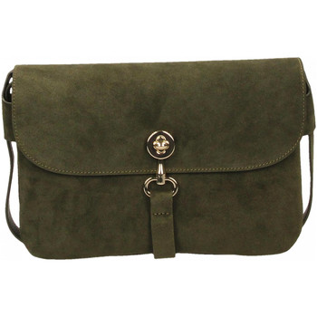 Torby Damskie Torby na ramię Coccinelle MADRAGUE SUEDE - BORSA PEL.CAMOSCIO/PEL.VITEL. g06-evergreen