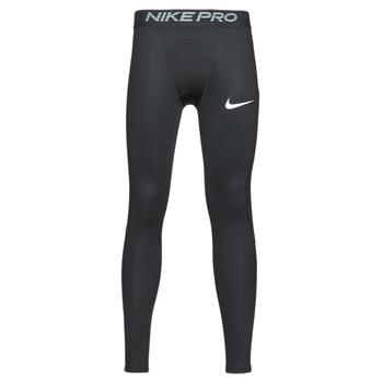 tekstylia Męskie Legginsy Nike M NP TGHT Czarny / Biały