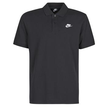 tekstylia Męskie Koszulki polo z krótkim rękawem Nike M NSW CE POLO MATCHUP PQ Czarny / Biały