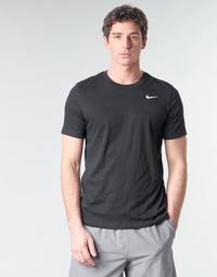 tekstylia Męskie T-shirty z krótkim rękawem Nike M NK DRY TEE DFC CREW SOLID Czarny / Biały
