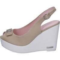 Buty Damskie Sandały Lancetti BP560 Beżowy