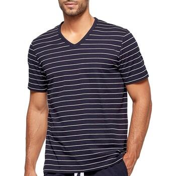 tekstylia Męskie Piżama / koszula nocna Impetus GO41024 039 Niebieski