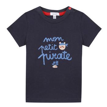 tekstylia Chłopiec T-shirty z krótkim rękawem Absorba NADINE Marine