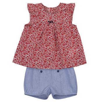 tekstylia Dziewczynka Komplet Absorba LEO Marine