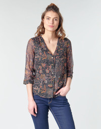 tekstylia Damskie Topy / Bluzki Vero Moda VMGLAMMY Marine