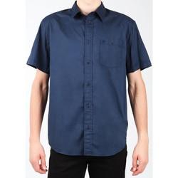 tekstylia Męskie Koszule z krótkim rękawem Wrangler Koszula  S/S 1PT Shirt W58916S35 granatowy
