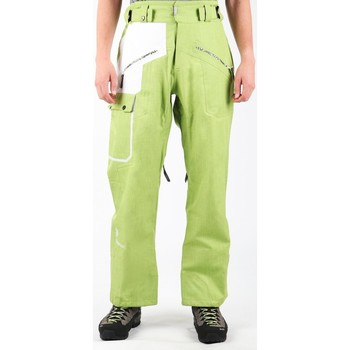 tekstylia Męskie Spodnie Salomon Spodnie narciarskie  Sideways Pant M L1019630036 zielony