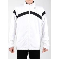 tekstylia Męskie Bluzy dresowe K-Swiss Kurtka lifestylowa  Accomplish WVN JCKT 100627-102 biały, czarny