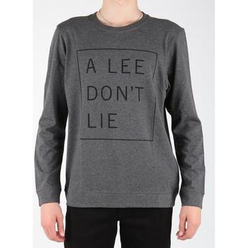 tekstylia Męskie T-shirty z długim rękawem Lee T-shirt  Dont Lie Tee LS L65VEQ06 szary
